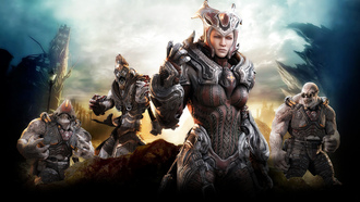 gears of war 3, xbox 360, шутер, epic games