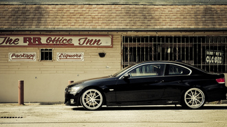 360 three sixty forged, bmw, 335i, black, 3 series, чёрный, бмв