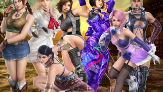 tekken, anna, asuka, nina, girls, tekken girls