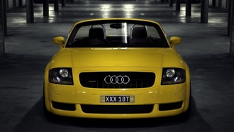 обои, обои авто, roadster, cars, cars wall, 1.8, auto wallpapers, tt, 5v turbo, auto, вид с переди, audi wallpapers, parking