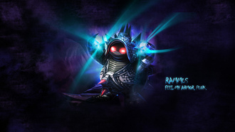 chrome, feel my armor, league of legends, rammus, раммус, punk, lol