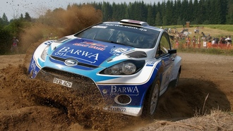 auto, fiesta s2000, rally, racing