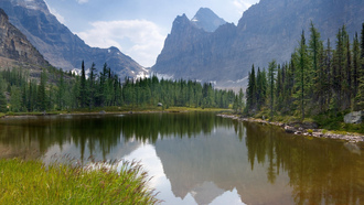 canada, озеро, горы, природа, moor lakes, лес, yoho national park
