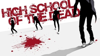 hsotd, зомби, high school of the dead