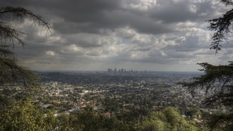 skyline, la, los angeles, usa, california, калифорния, лос-анджелес