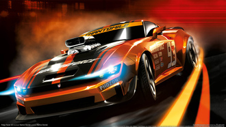 тачка, namco bandai, машина, gamewallpapers, ridge racer 3d, гонки