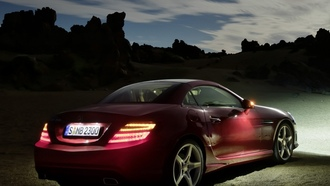 mercedes-benz, slk350, amg, sports package