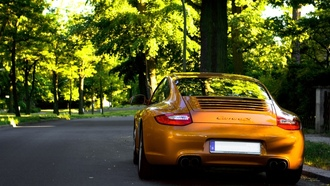 cars wall, auto, supercars, обои авто, cars, фото, sity, дорога, porshe carrera gt, город