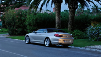 bmw, 6, rear, series, angle