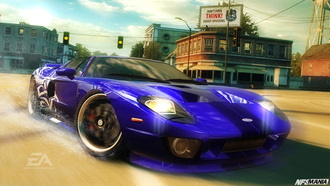 машина, ford gt, nfs mw