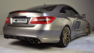 машина, car, prior design, 3000x1992, mercedes e-class coupe c207, tuning
