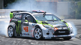 gymkhana, wrc, ралли, джимкана, rally, ford, x-games, ken block, кен блок, fiesta