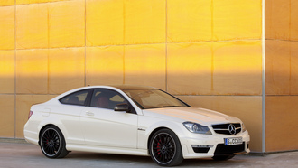 машина, 3000x1921, car, mercedes c63 amg coupe 2012