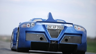 apollo, gumpert, задняя часть