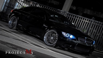 black, бмв, bmw, m3, чёрная, project, 360 three sixty forged