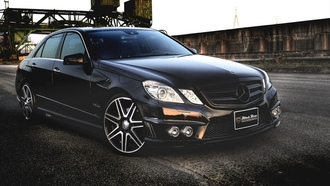 sport, black, e-klasse, wald, car, edition, mercedes, black, wallpapers, tuning, line, benz