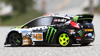 ford, ken block, drift, кен блок, fiesta, модель, car