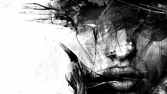splash, paint, russ mills, girl, urban art