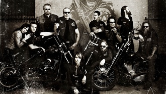 crew, men, soa, sons of anarchy, bikes, samcro, redwood original, club