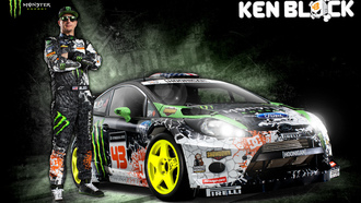 кен блок, rally, rs, ken block, ралли, rallycross, ford, wrc, monster energy, wrc