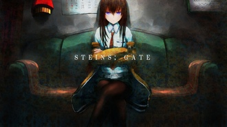 sweeter 6, makise kurisu, аниме, девушка, steins;gate, арт