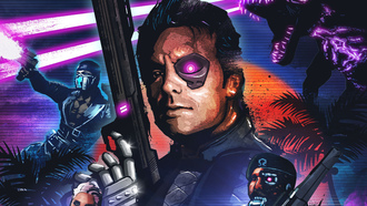киборги, dlc, far cry 3 blood dragon, дополнение, сержант, omega force