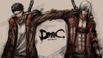devil may cry, art, fan, dante, dmc