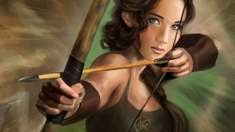 the hunger games, голодные игры, katniss everdeen, jennifer lawrence