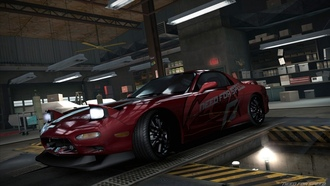 тюнинг, гараж, need for speed world, mazda rx7