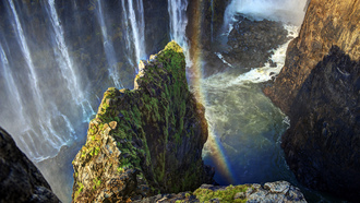 водопад виктория, victoria falls, republic of zimbabwe, зимбабве