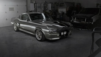 shelby, ford mustang, авто, gt500, eleanor