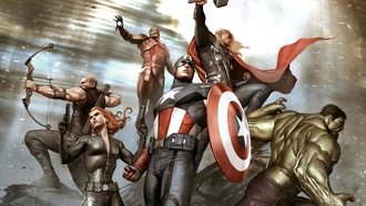 marvel, thor, iron man, black widow, мстители, captain america, hawkeye, hulk, the avengers