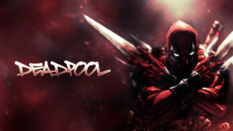 Deadpool, Comics, арт