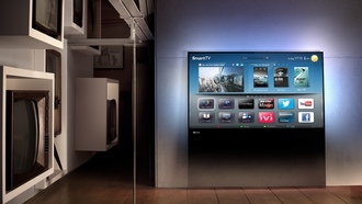 телевизоры, philips designline tv, интерьер, smart tv