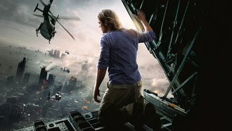 война миров z, брэд питт, brad pitt, world war z, руины, город