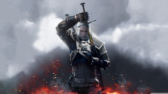 Witcher 3 Wild Hunt Geralt 2015, игра, Witcher, Geralt
