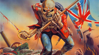 THE TROOPER, IRON MAIDEN
