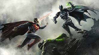 Injustice Gods Among Us, Superman, DC Comics, Batman