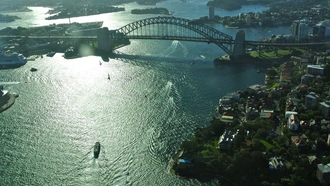 австралия, sydney harbour bridge, australia, город, sydney, сидней