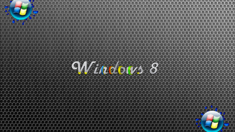 Windows, фон, серый, 8