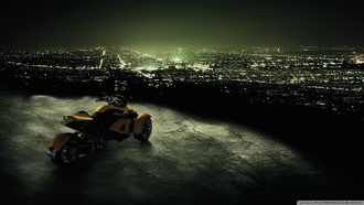 ATV, Can-Am Spyder, мотоцикл