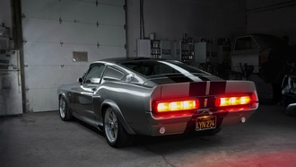 gt500, shelby, mustang, ford, eleanor, muscle car