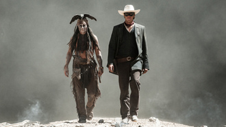 одинокий рейнджер, tonto, johnny depp, the lone ranger, джонни депп