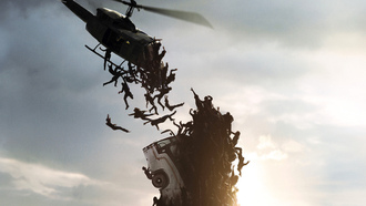 brad pitt, plane, man, gerry, zomb, dark, death, men, lane, hd, zombie, world war z, dead, wallpaper