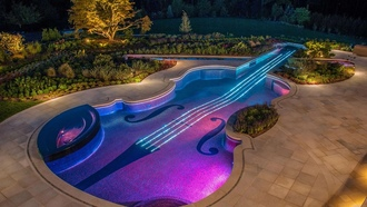 Violins, Swimming pool