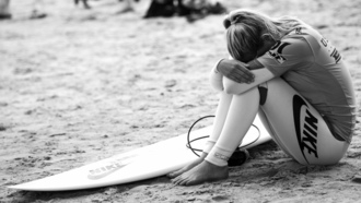 пляж, девушка, surfing, excitement, girl, surfboard, experience, disorder, beach