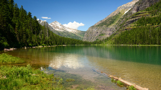 монтана,  озеро, глейшер, avalanche lake, glacier national park, montana