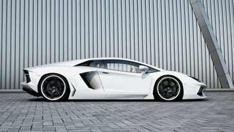 black, lamborghini, aventador, wheels, white, lp700-4, авентадор, ламборгини