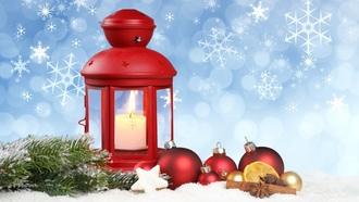 merry christmas, snow , snowflake, lantern, stars, ornaments, новый год, new year, balls