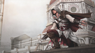 флоренция, ассасин, эцио, assassins creed 2